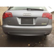Бампер задний универсал S-Line Audi A6 C6