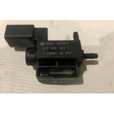 Электромагнитный клапан Audi A4 2003 2.0