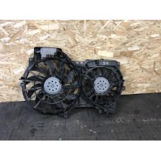 Диффузор в сборе (вентиляторы и блок) Audi A6 C6
