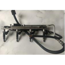 Форсунки с сборе с топливной рампой N45 1.6 116i