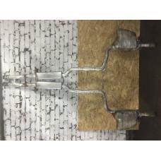 Выхлопная труба и глушитель (задняя часть) Audi Allroad