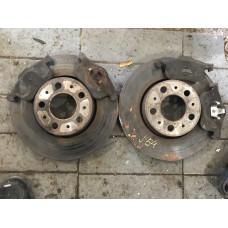 Передние тормозные диски + колодки Volvo