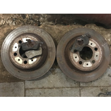 Задние диски + колодки Volvo