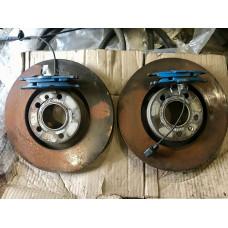 Тормозные диски + колодки передние Audi Allroad